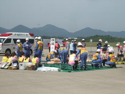 イベント時の救護活動